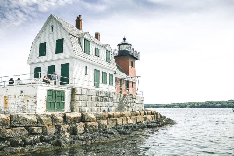 Rockland Breakwater Lighthouse