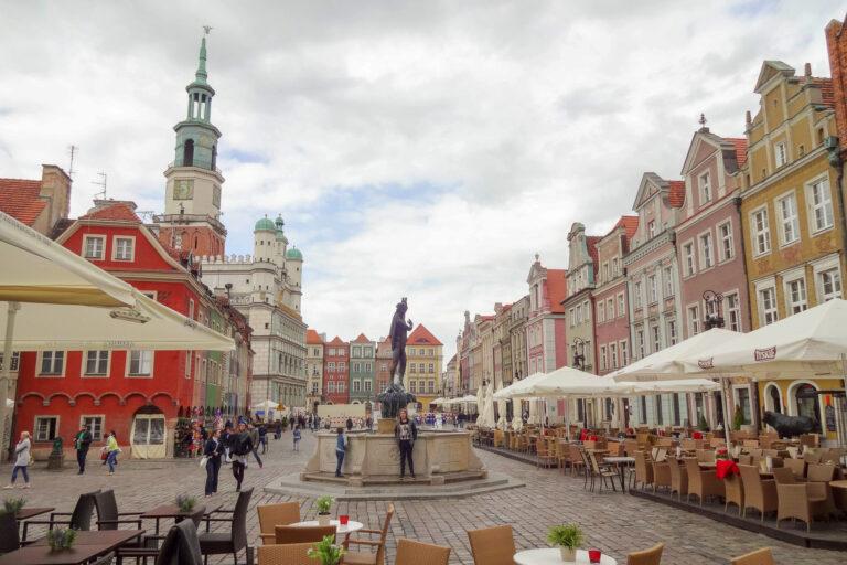 Poznań city square