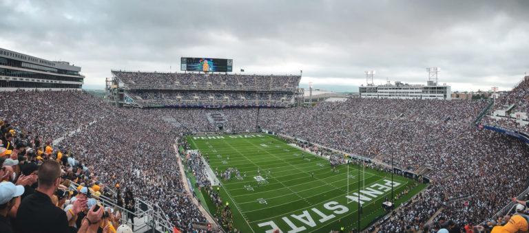Beaver Stadium - App State vs Penn State