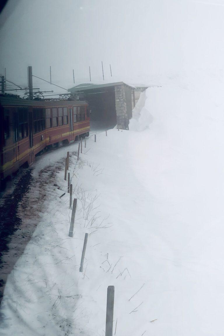 Jungfraubahn tunnel