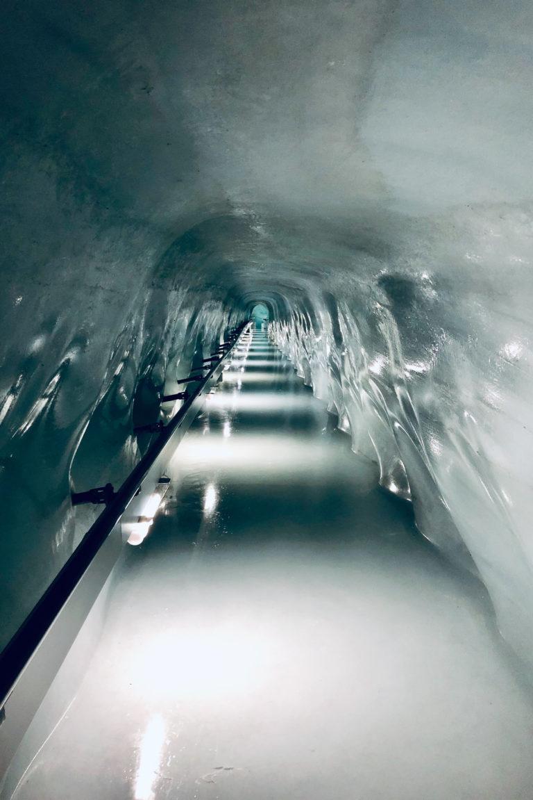 Jungfraujoch ice cave