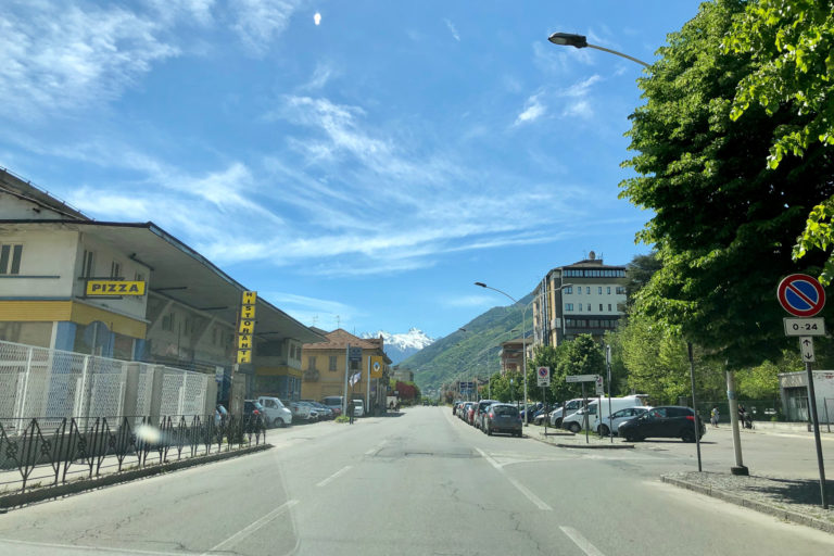 Leaving Aosta