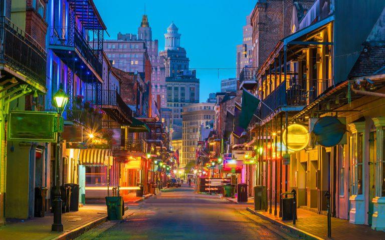 New Orleans - Bourbon St.