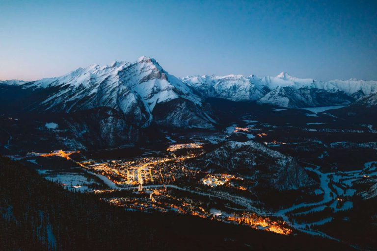 Banff at Night