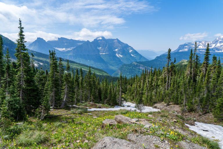 Haystack Pass - Glacier National Park