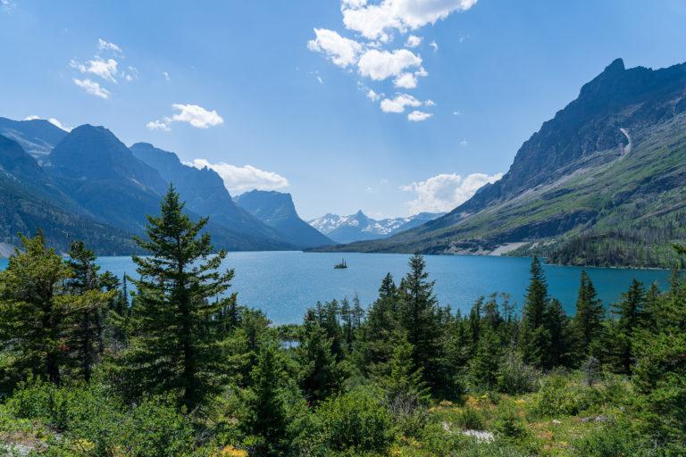 Wild Goose Island Overlook - Glacier National Park